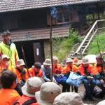 Forstpraktikum der 7. Klasse