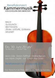 Benefizkonzert mit Kammermusik @ Festsaal