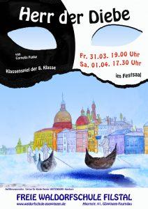 """Schauspiel 8.Klasse: """"Herr der Diebe"""" @ Festsaal"""