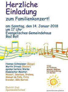 Familienkonzert @  Evangelisches Gemeindehaus in Boll