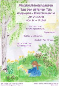 Tag der offenen Tür im Kindergarten @ Waldorfkindergarten Kleiststr.