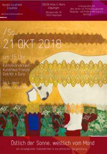 Novalis Eurythmie Ensemble Stuttgart: Östlich der Sonne, westlich vom Mond @ ODEON (Altes E-Werk) | Göppingen | Baden-Württemberg | Deutschland
