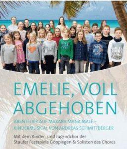 Kindermusical: Emelie, voll abgehoben @ Festsaal