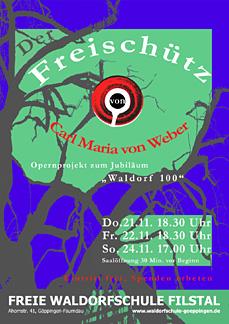 """WALDORF 100 - Projekt: """"Der Freischütz"""""""