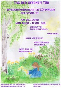 """<span style=""""color:red"""">ABGESAGT:</span>Tag der offenen Tür im Kindergarten Kleiststraße @ Waldorfkindergarten Kleiststr."""